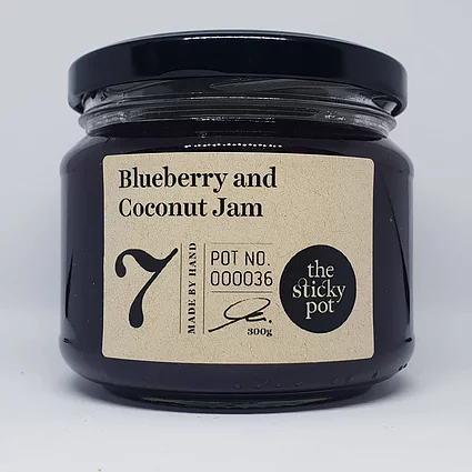 Blueberry and Coconut Jam