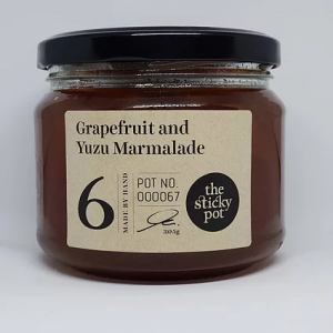 Grapefruit and Yuzu Marmalade