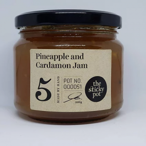 Pineapple and Cardamon Jam