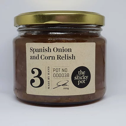 Spanish Onion and Corn Relish
