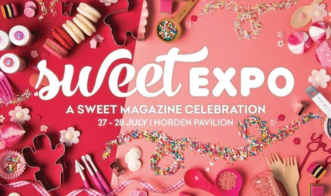 We are at the Sweet Expo!!