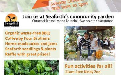 Catch us this Sunday at the Baringa Bush Community Garden Spring Gala